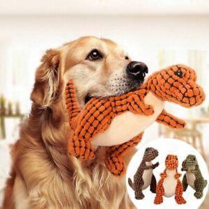 Pet-Puppy-Dinosaur-Chew-Squeaker-Squeaky-Sound-Toy-Molar-Interactive-Dog-Toys
