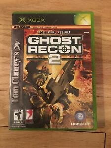 GHOST RECON 2 - XBOX - MISSING MANUAL - FREE S/H - (VV)