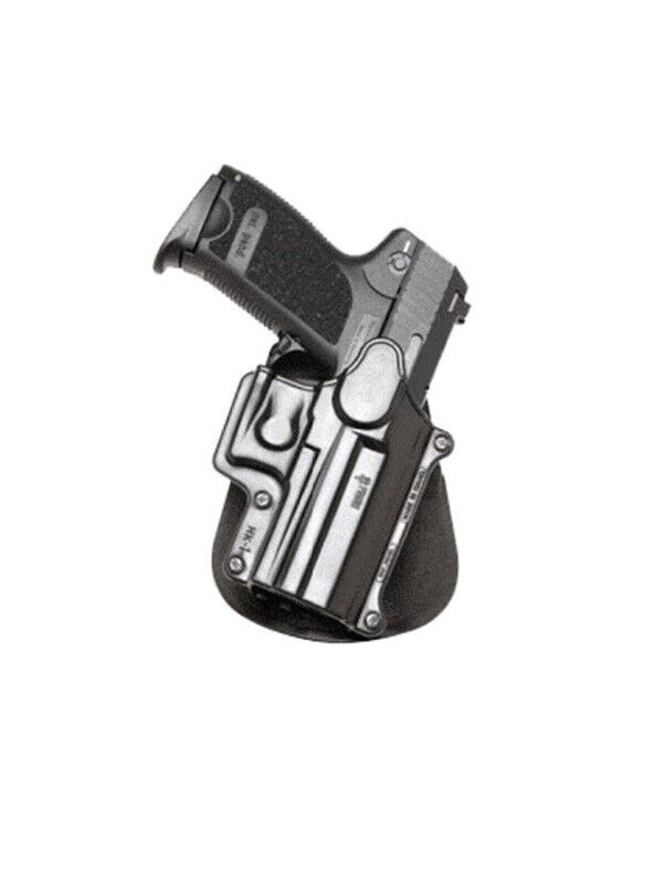 Fobus 360 redo retention paddle holster h&k usp compact 9mm, .40 .45 cal