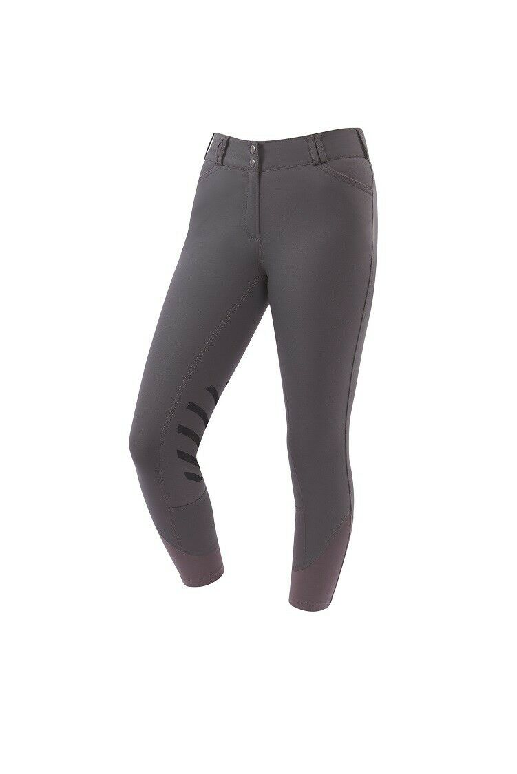 Dublin Ascent Prime Women's Gel Knee Patch Riding Breeches Mid Rise