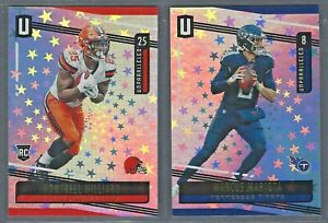 2019 Panini Unparalleled Base & Rookies ASTRAL /200 Complete Your Set - You Pick