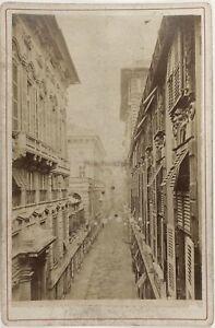 Genoa-Italia-Foto-Alfredo-Noack-PL17c1n10-Cartolina-Armadio-Vintage-Albumina