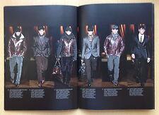 Dolce & Gabbana Catalogue Men's FashionWinter 2009,David Gandy,Adam Senn NEW