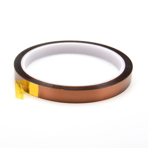 Hitzebeständiges Klebeband Kapton Tape 5//10//20//30//50 mm*30m Drucker-Extruder-ge