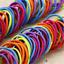 100PCS-Cute-Women-Girl-Elastic-Rubber-Hair-Ties-Band-Rope-Ponytail-Holder-TR thumbnail 2