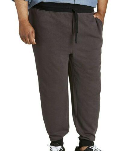 Jogger Pants Sweatpants Canyon Ridge Contrast Waist Cuff Knit Big Men/'s 1XL-5XL