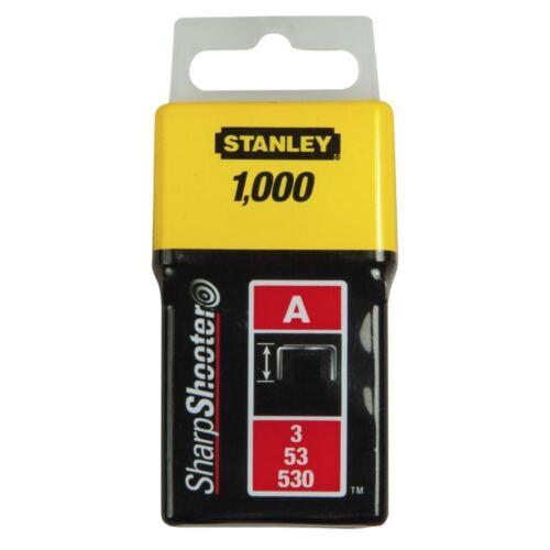 Stanley agrafeuse agrafes 1000 pièces 10 MM Longueur Cuisse