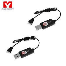 2PC 3.7V USB Battery Charger for Syma X5SW X5C -1 X5C X5 X3 F4 X4 X2 /Hubsan X4