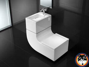 Roca W W Waschbecken Und Wc Kombination Innovation Technologie
