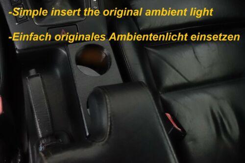 Getränkehalter BMW 3er E36 Ablagefach Lederoptik Cupholder
