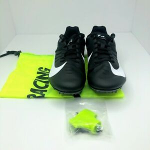Nike-Zoom-Rival-S9-Track-Shoes-Men-039-s-Sprint-Spikes-Black-Sz-10-5-907564-001-New