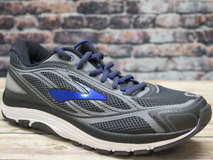 5acc82dce81 Brooks Men s Dyad 9 Asphalt Electric Brooks Blue Black Walking