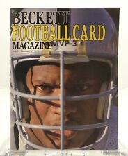 Beckett Football Card Magazine #1 December 1989 Bo Jackson Steve Largent Dorsett