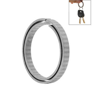 Titanium Alloy Outdoor Hanging Buckle Hook Keychain Key Ring EDC Quickdraw G2S5