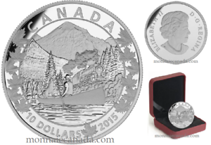 CANADA-Canoe-Across-3-Magnificent-Canada2015-10-1-2-oz-Fine-Silver