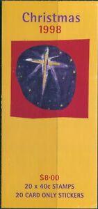 Australia-booklet-1998-SG1832-40c-Christmas-MNH