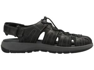 fb14d106094 Image is loading Men-039-s-Clarks-Sandals-Brixby-Cove-Black-