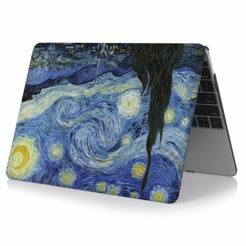 """A1706 2018//17 MacBook Pro 13/"""" Van Gogh Painting  Case Cover A1989// A1708"""