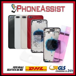 SCOCCA POSTERIORE Per Apple iPhone 8 Plus TELAIO BACK COVER CON o SENZA FLEX