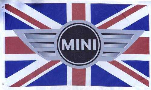 Free Ship To USA BMW MINI COOPER UK FLAG BANNER SIGN 3X5 FEET S classic jcw john