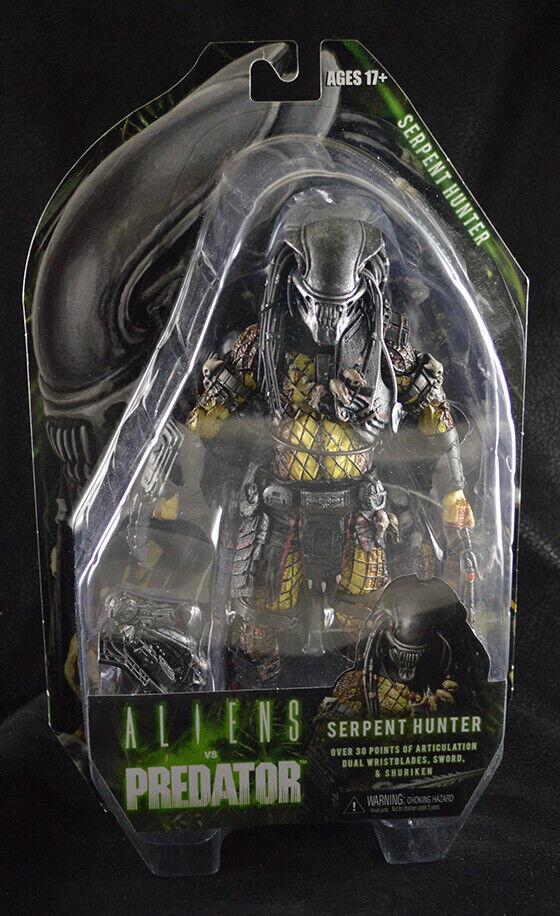 Neca Serpent Hunter Protator AVP Alien Vs Protator Series 17
