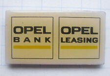 OPEL BANK / LEASING ................................ Auto-Pin (112b)