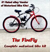 Motorized 26 Cruiser Bicycle Kit - Moped - Motor Bike - Do It Yourself + Save