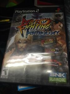 Art Of Fighting Anthology Sony Playstation 2 Ps2 Complete 828862200204 Ebay