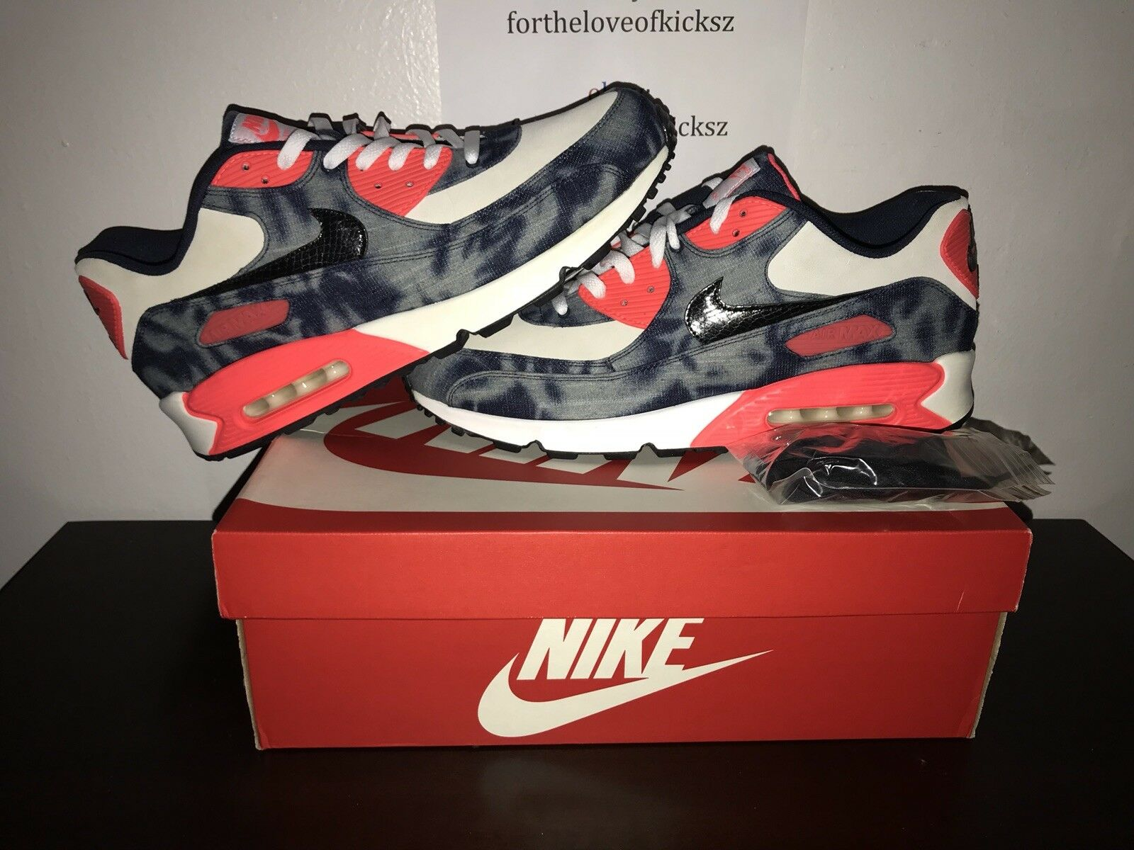"b3291d41fe x Nike Air Max 90 QS Denim"" Atmos ""Bleached npvihw9387-Athletic ..."