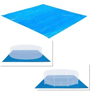 Image Is Loading Intex Swimming Pool Ground Cloth 8ft To 15ft