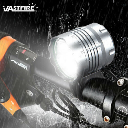 20000Lm 5x XML T6 LED Cycling Front Bicycle Light Bike Lamps HeadLight 3-Mode