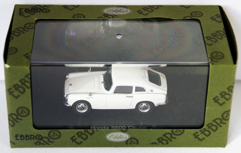 Ebbro 44626 Honda S600 Coupe (White) 1 43 scale
