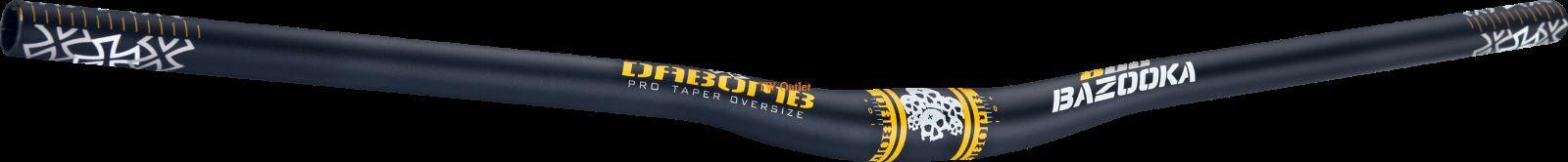 "New Da Bomb /""BAZOOKA 800/"" MTB AM-DH Riser 9° Handlebar 31.8 mm//800mm 6 Colors"