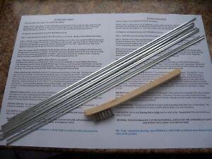 Aluminium Brazing Amp Soldering Rods Aluminium Welding
