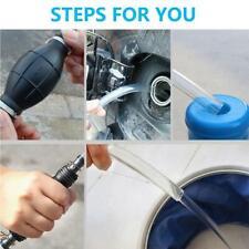 Siphon Hose Liquid Transfer Manual Hand Pump For Gas Water Oil Aquarium
