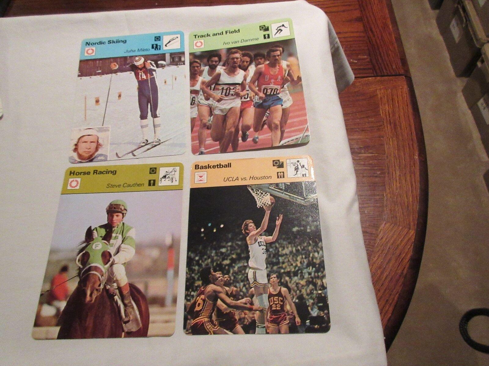 Sportscaster Cards 1978 Deck # 11 Cards # 1-24 Willie M
