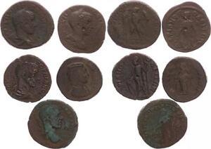 Romanos Provinzialprägungen Lote 5a De 5 Monedas S-Ss