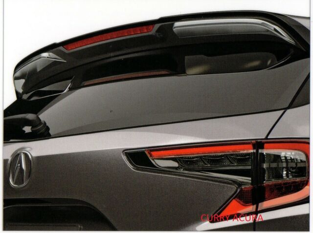 Genuine OEM 2019-2020 Acura RDX Chrome Tailgate Spoiler Garnish