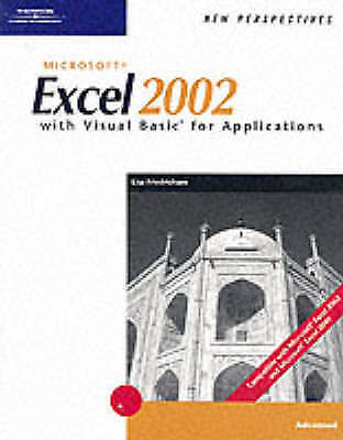 New Perspectives on Microsoft Excel 2002 with Visual Basic for Applications, Ad