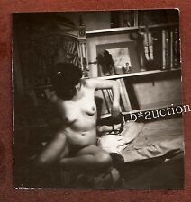 NUDE ARTIST'S MODEL / NACKTES AKT MODELL * Vintage 1920s Photo #3