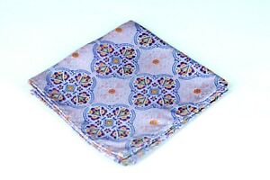 Lord-R-Colton-Masterworks-Pocket-Square-Tangier-Lavender-Woven-Silk-75-New