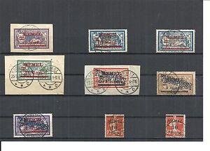 Memel-Litauen-1921-Einzelmarken-aus-MiNrn-36-71-o-geprueft-Huylmans-BPP