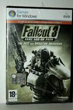 FALLOUT 3 THE PITT AND OPERATION:ANCHORAGE ESPANSIONE NUOVA PC DVD ITA VBC 42564