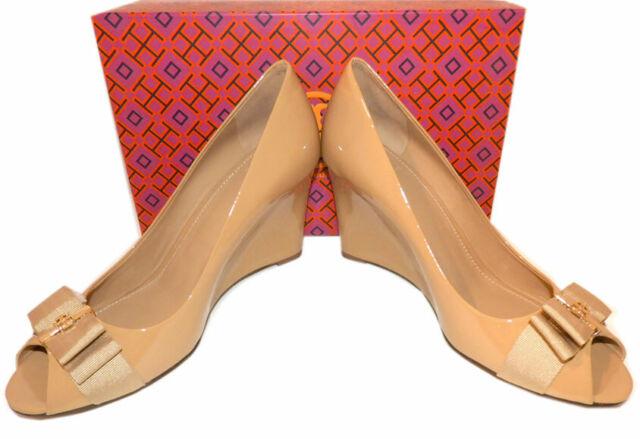 Tory Burch Kara Wedge 65mm Tan Leather