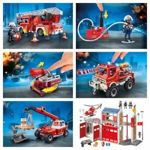 Service d'incendie Playmobil City Action - Moteur, camion, etc.