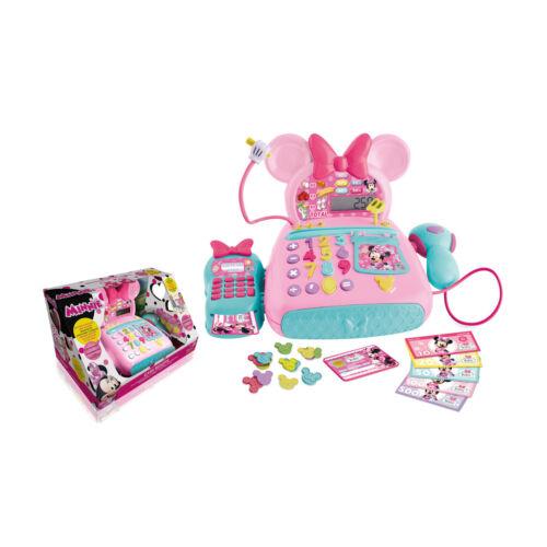 Caja Registradora Minnie Mouse Disney Juguete Niños Lector Targetas Microfono