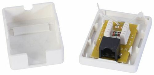 Unshielded RJ45 Network Cable CAT5e 30.0 m White UTP-0008-30WH Valueline