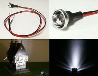 S696 LED Flutlichtstrahler Bau- Fassadenstrahler Scheinwerfer weiß 12-19V Ø 12mm