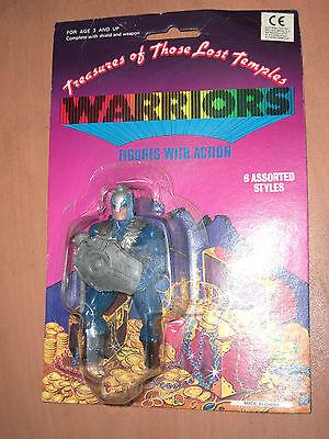 80's VINTAGE MOTU KO TREASURES OF THOSE LOST TEMPLES WARRIORS FIGURE MOC 9
