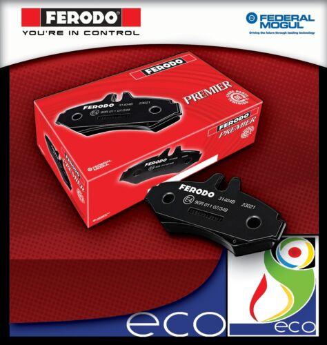 Pastiglie freno FERODO anteriori CITROEN C3 1.6 16v HDI con 66 kw dal 10//2005